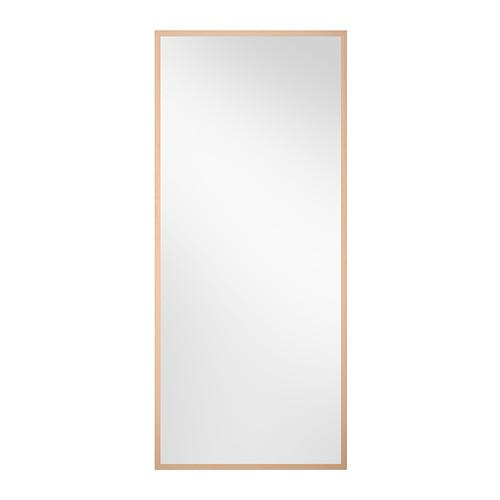 Birch mirror ikea stave 70x160cm 27 5 x 63 west shore for Miroir 70 x 160