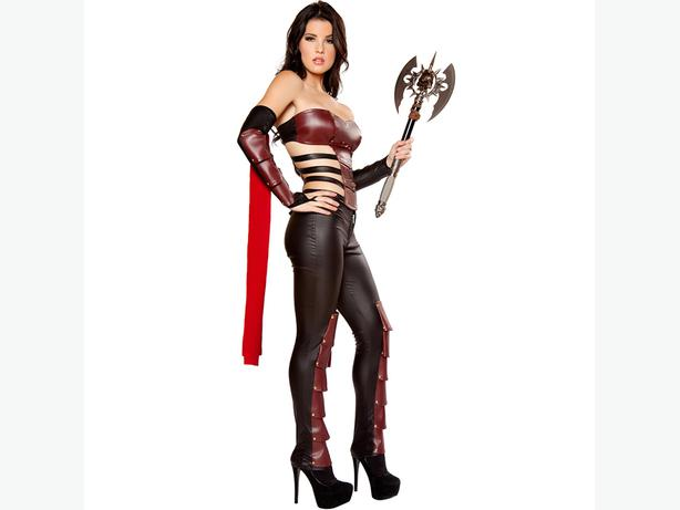 Warrior Cosplay Halloween Costume One Size