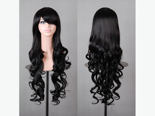 Cosplay Anime Long Wigs, 80cm