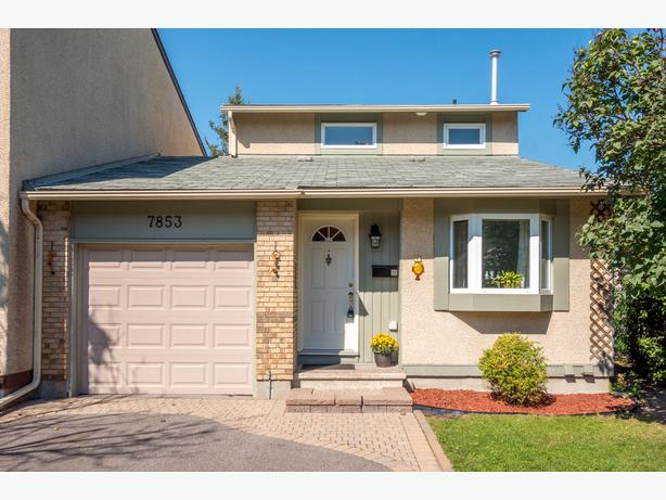 Beautiful townhome in orleans woods with no rear for Garage ad orleans