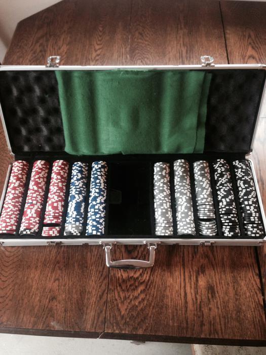 Poker set vancouver