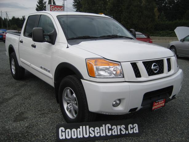 2008 nissan titan pro 4x leather sunroof crew cab many more options malahat including. Black Bedroom Furniture Sets. Home Design Ideas