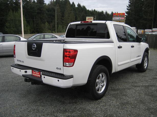 2008 nissan titan pro 4x leather sunroof crew cab many more options cobble hill cowichan. Black Bedroom Furniture Sets. Home Design Ideas