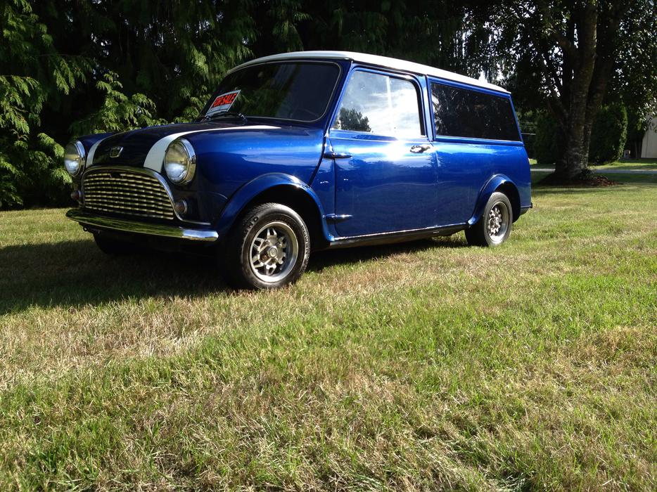1967 austin mini countryman outside metro vancouver vancouver. Black Bedroom Furniture Sets. Home Design Ideas