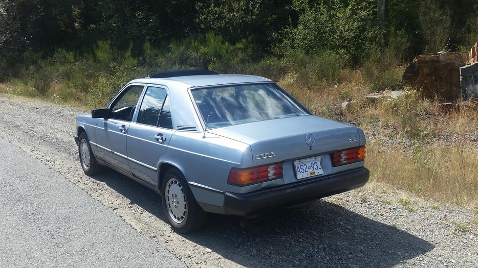 1987 mercedes benz 190e quick sale outside nanaimo for Mercedes benz nanaimo