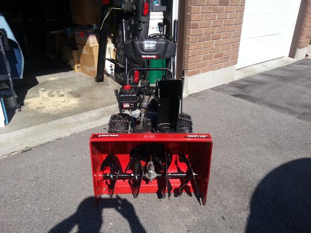 yard machine 10 hp 24 snowblower