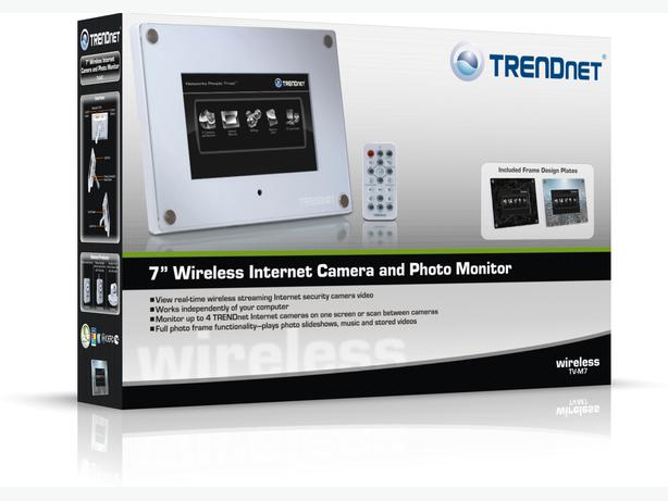 FS: NEW Trendnet TV-M7 Wireless Internet Camera and Photo Monitor