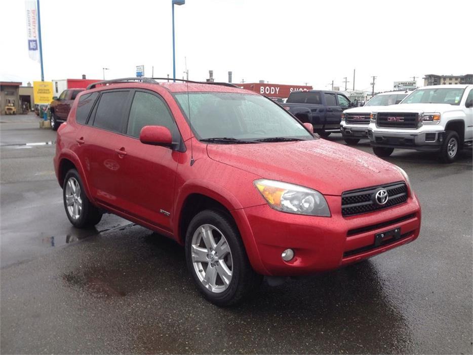 2007 toyota rav4 sport awd outside nanaimo parksville. Black Bedroom Furniture Sets. Home Design Ideas