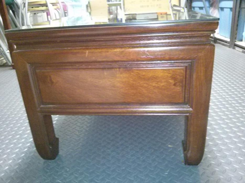 Rosewood coffee table with drawers richmond vancouver for Coffee tables london ontario