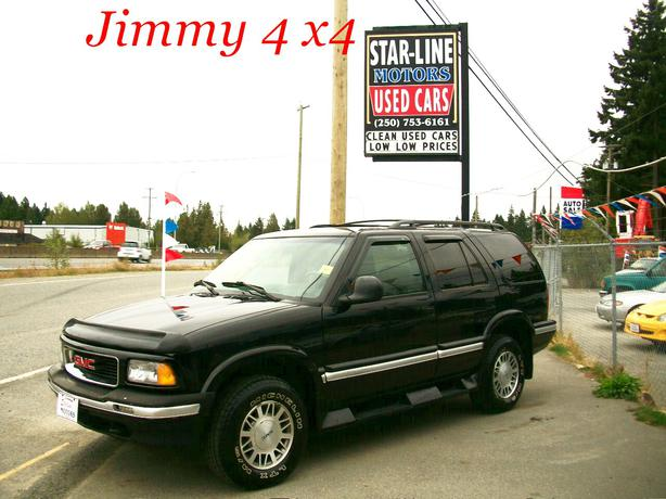 Mint g m c jimmy 4x4 jet black beauty outside for Victoria star motors kitchener