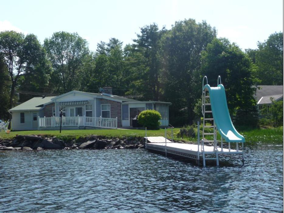 Calabogie Lake Waterfront Cottage House For Sale Outside