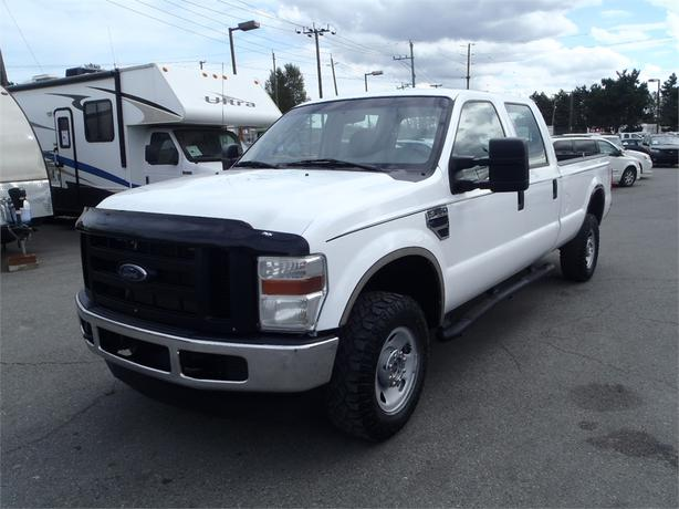 2008 ford f 350 sd xl crew cab long box 4wd outside comox valley courtenay comox. Black Bedroom Furniture Sets. Home Design Ideas