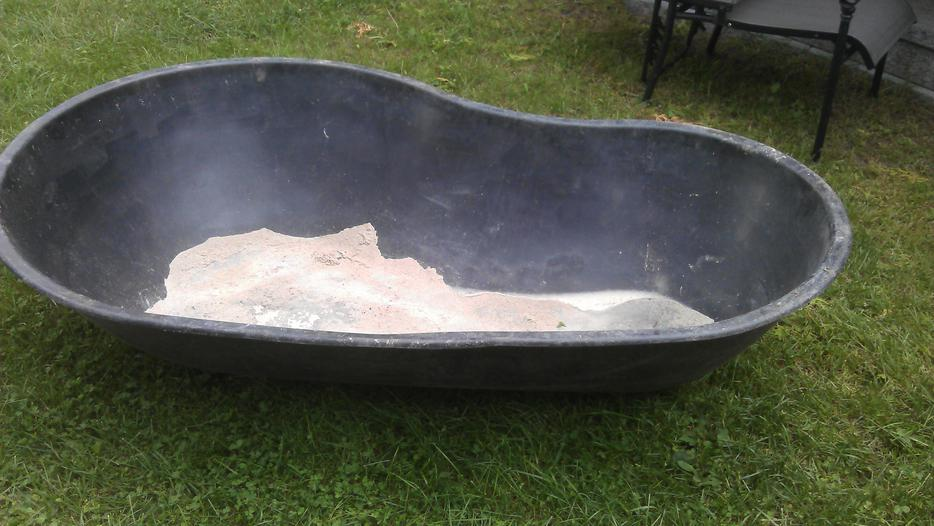 Preformed fish pond liner kanata ottawa for Koi pond insert