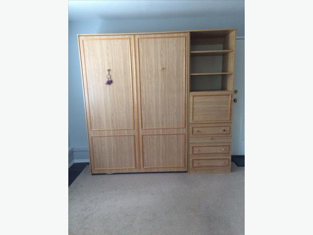 Murphy Beds Gatineau : Double murphy bed victoria city
