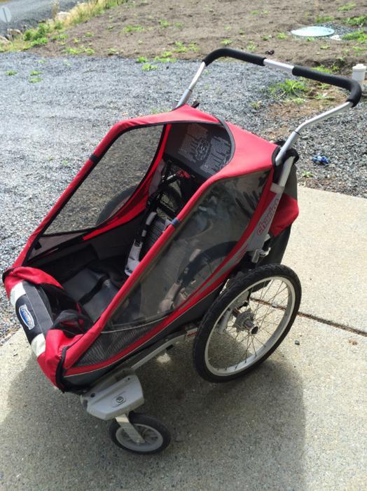 chariot cougar 2 bike trailer west shore langford colwood. Black Bedroom Furniture Sets. Home Design Ideas