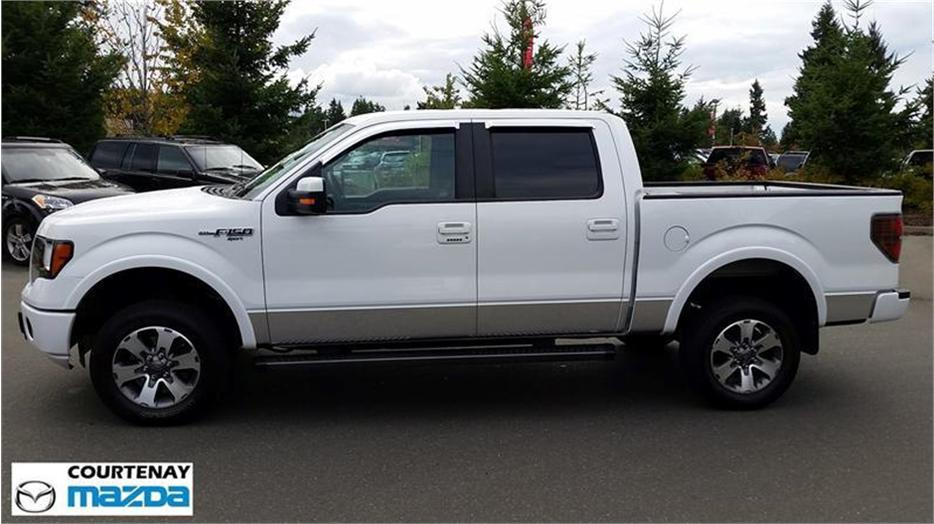 2013 ford f 150 fx2 supercrew outside comox valley comox valley mobile. Black Bedroom Furniture Sets. Home Design Ideas