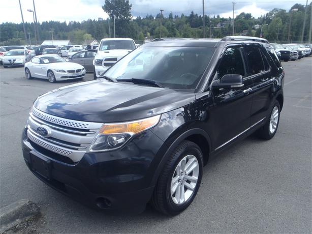 2013 ford explorer xlt 4wd with 3rd row seating outside. Black Bedroom Furniture Sets. Home Design Ideas