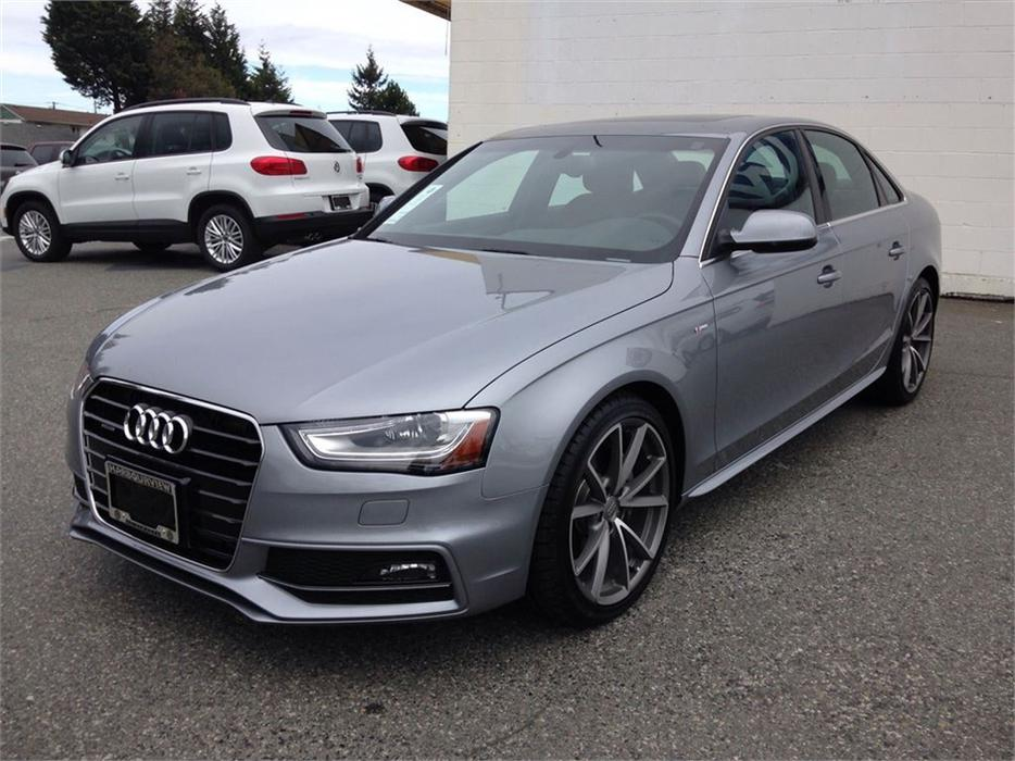 2015 Audi A4 Technik Plus W S Line Outside Victoria Victoria
