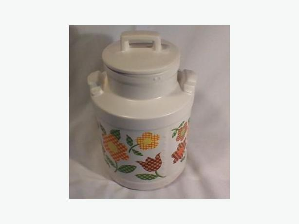 McCoy milkcan cookie jar