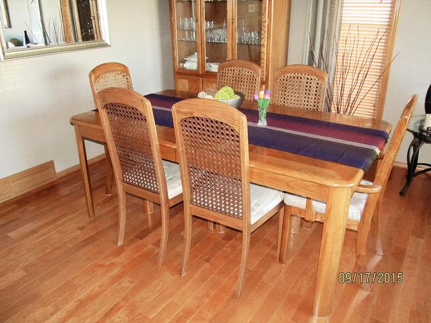 dining table 6 chairs and china cabinet east regina regina