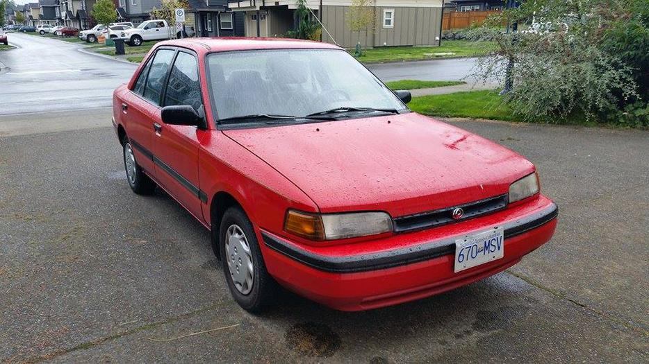 Must Sell Fast 1995 Mazda Protege Low Kms West Shore