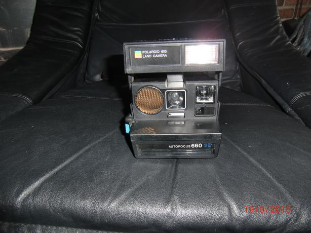 polaroid 600 land camera autofocus 660 se outside ottawa gatineau area ottawa. Black Bedroom Furniture Sets. Home Design Ideas