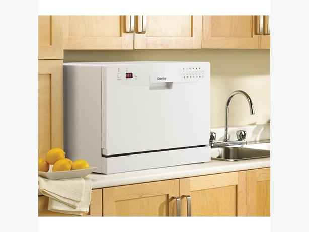 Selling my handy-dandy Danby countertop dishwasher! Model DDW611WLED ...