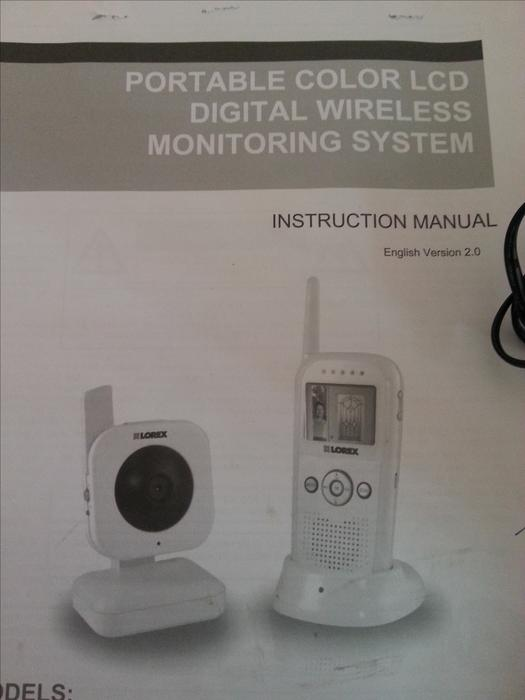 baby monitor color video audio and night vision central saanich victoria. Black Bedroom Furniture Sets. Home Design Ideas