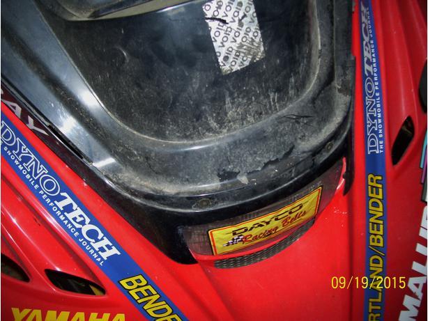Yamaha SX700 VMax 500 600 700 headlight cover headlight shroud windshield