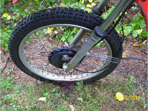 Honda XL500 front wheel 23 inch front wheel and hub