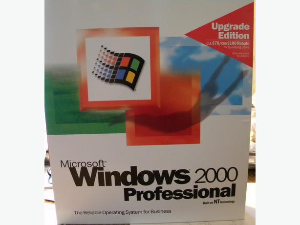 windows 2000 professional update