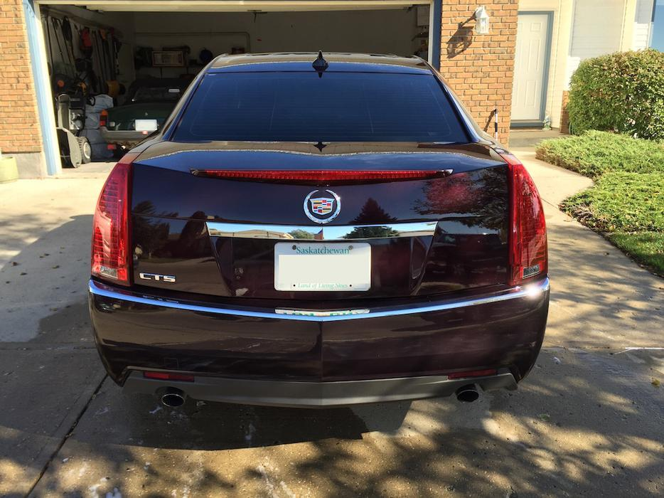 cadillac cts 6 speed manual