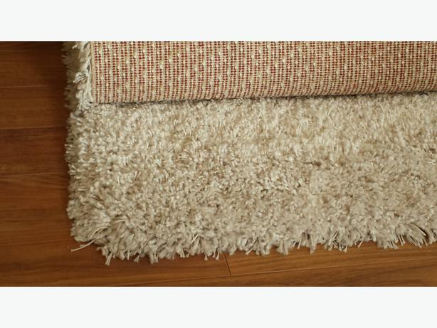 White Shag Rug From Costco West Shore Langford Colwood