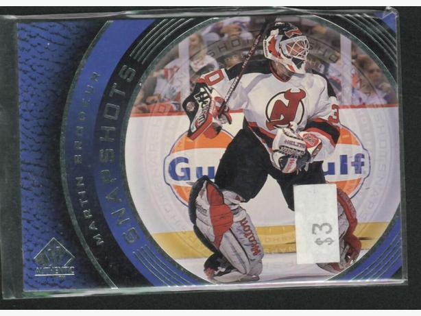 Brodeur Devils 99/2000 Upper Deck SP Authentic Snapshots