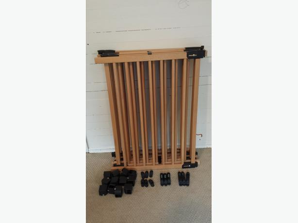 Ikea Patrull Klamma Baby Gate ~ Three wooden Ikea Baby Safety gates Good condition, with all mounting