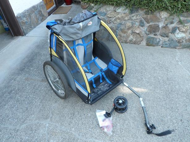 Bell Double Ride Bicycle Trailer Saanich, Victoria