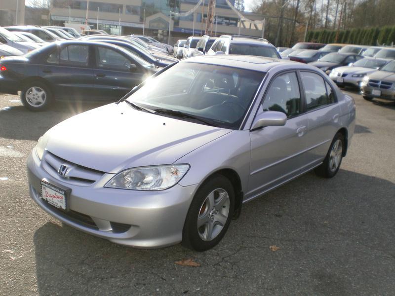 2004 honda civic si sedan automatic outside victoria for Honda civic si automatic