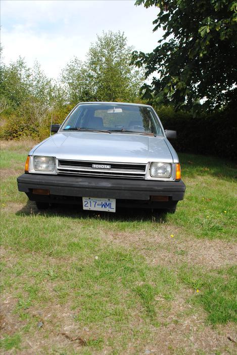 1986 Toyota Tercel Hatchback Sooke Victoria Mobile