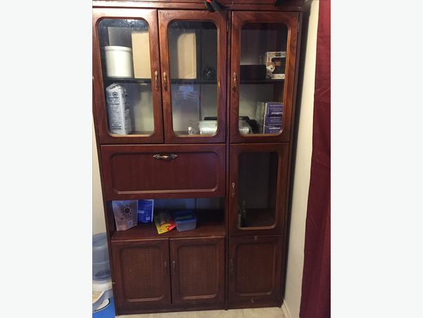 China Cabinet Wall Unit North East Calgary