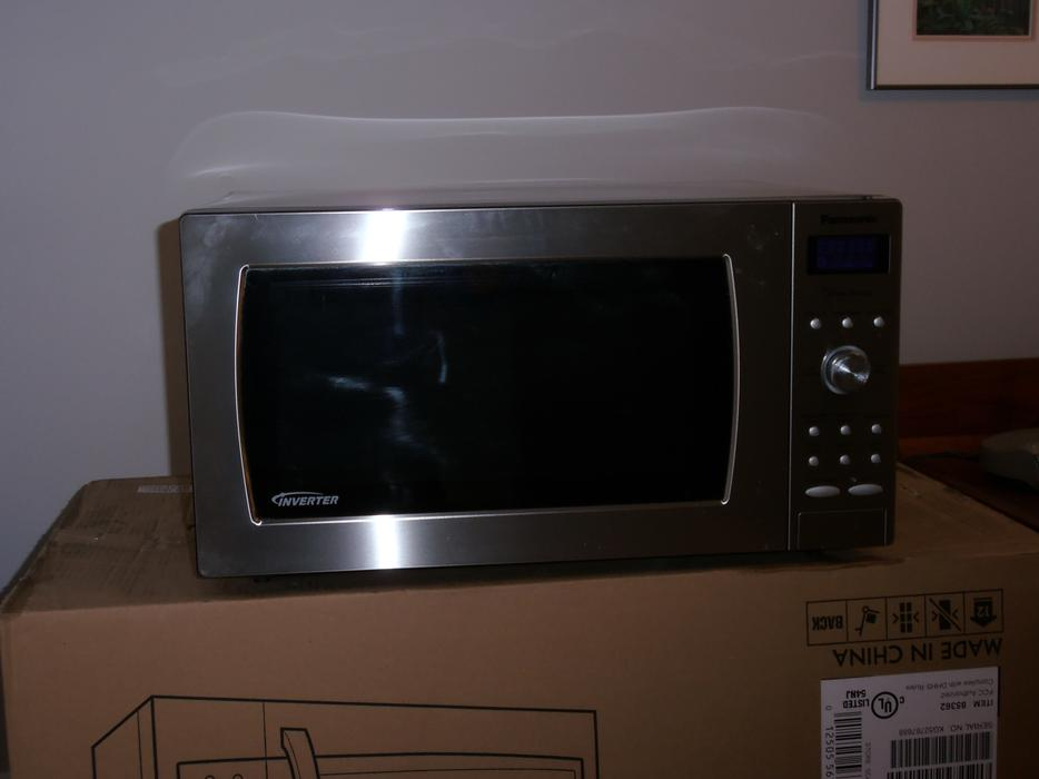 Stainless Panasonic Genius Inverter Microwave Saanich