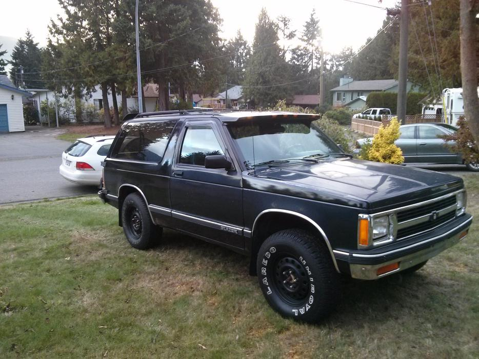 1991 Chevy S10 Blazer Tahoe 2 Door V6 4 3 Fuel Injected
