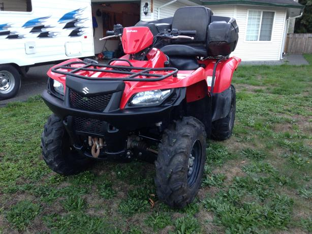 2007 suzuki king quad 450 axi outside comox valley campbell river. Black Bedroom Furniture Sets. Home Design Ideas