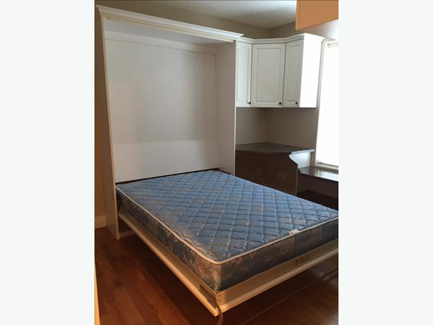 Murphy Beds Gatineau : Great condition murphy bed double victoria city