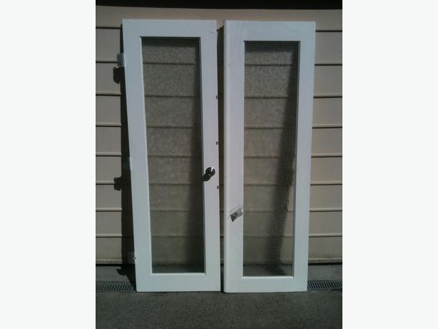 Exterior Frosted Glass French Doors Victoria City Victoria