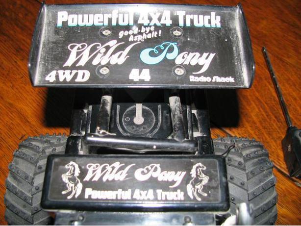 Powerful 4 x 4 truck Wild Pony