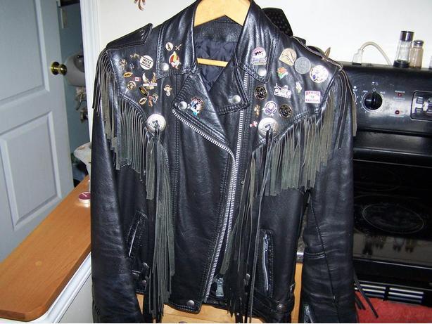 Ladies Leather Jacket & Chaps