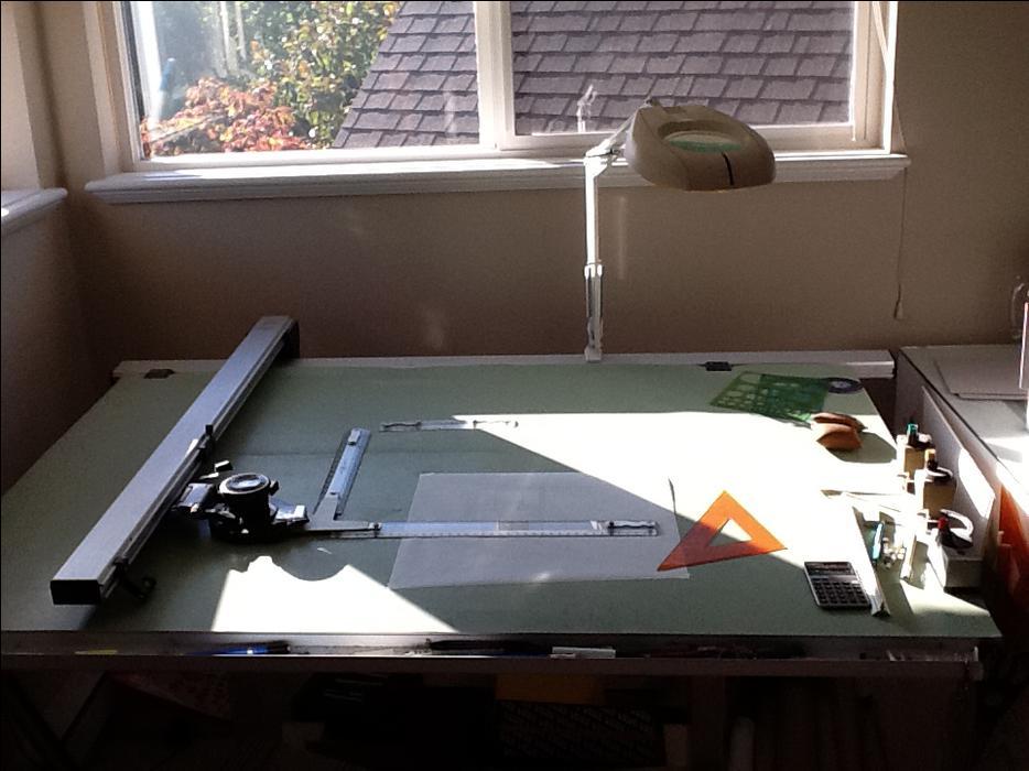 track drafting machine