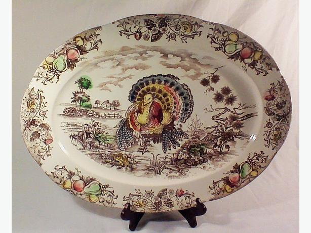 Large turkey platter