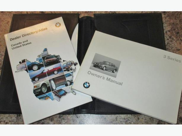 1995 BMW 3 Series Owner's manual (English) - Price reduced again !