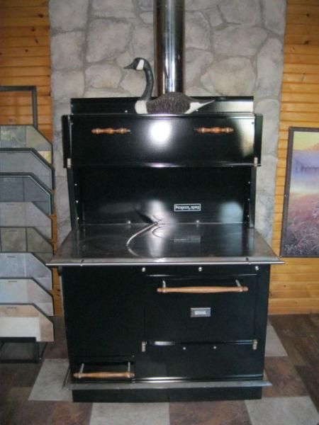 Wood Cookstove Ranges New Amish Made ULC Certified Order